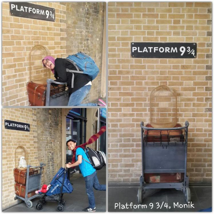 Platform 9 3/4 Harry Potter