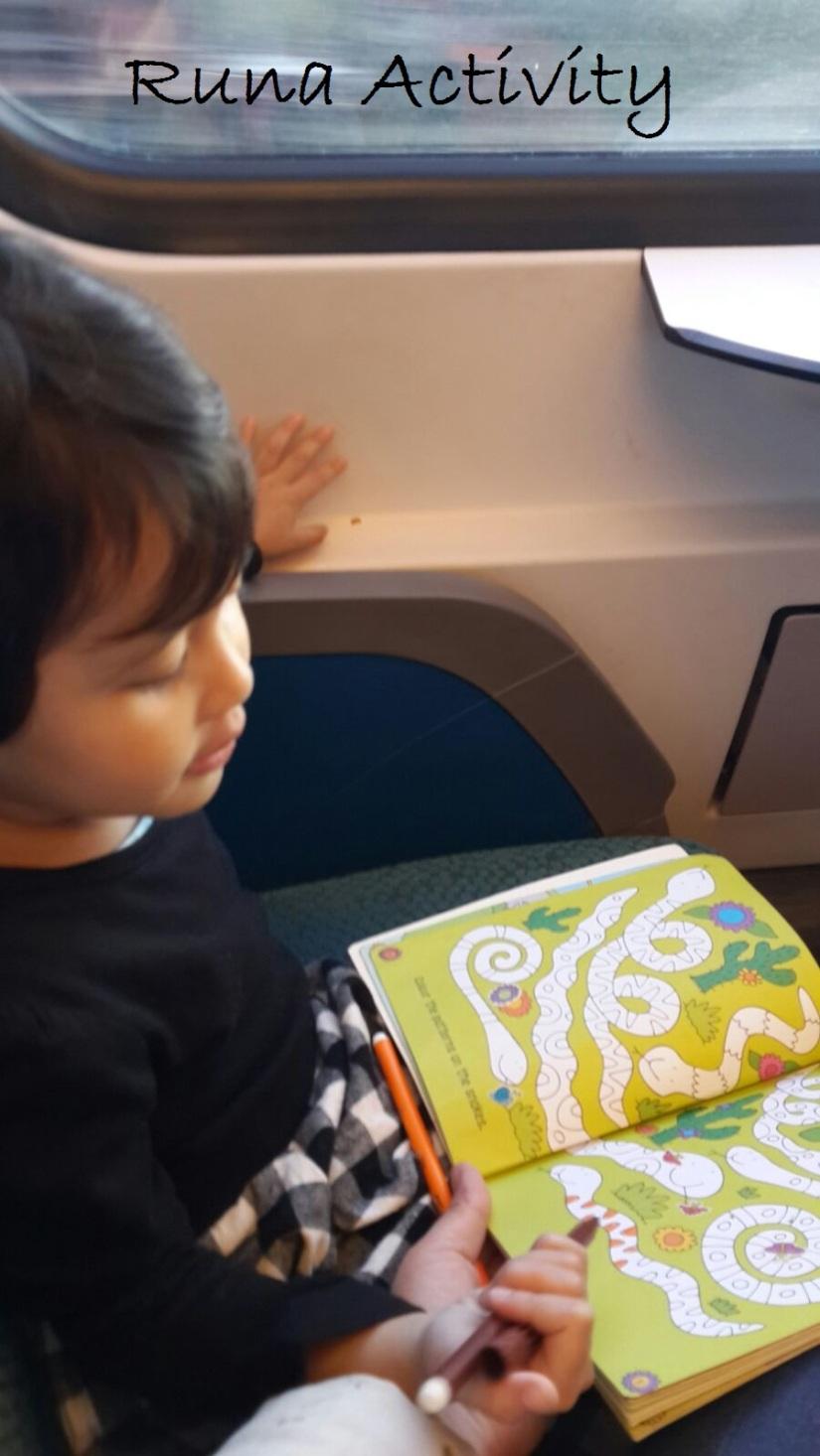 Runa dan busy book