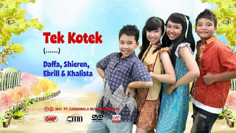 GNP (Gema Nada Pertiwi) Lagu anak-anak. Sumber www.dailymotion.com