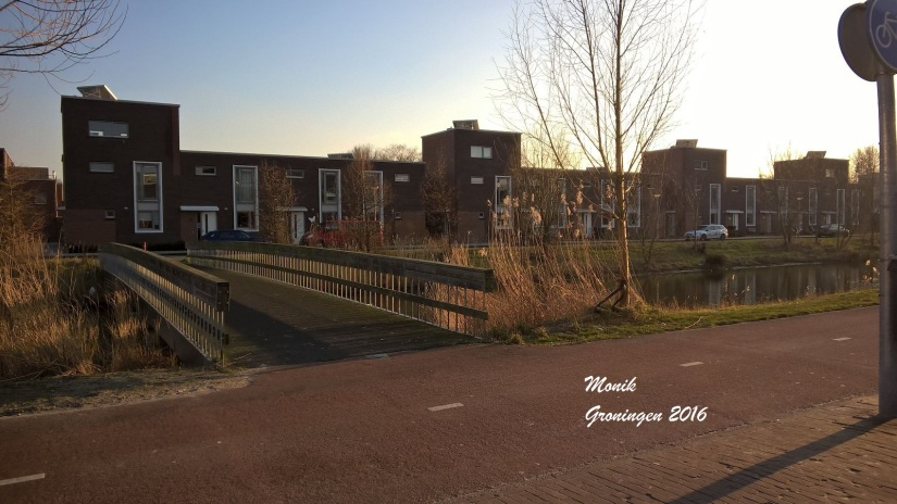 Jalan yang biasa dilewati Runa setiap ke sekolah