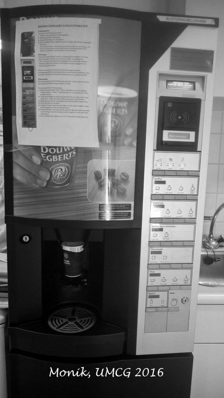Salah satu Coffee Machine di departmen
