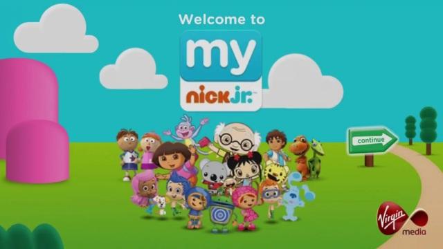 Tontonan anak-anak di Nick Junior (Nederland). Sumber www.thedrum.com
