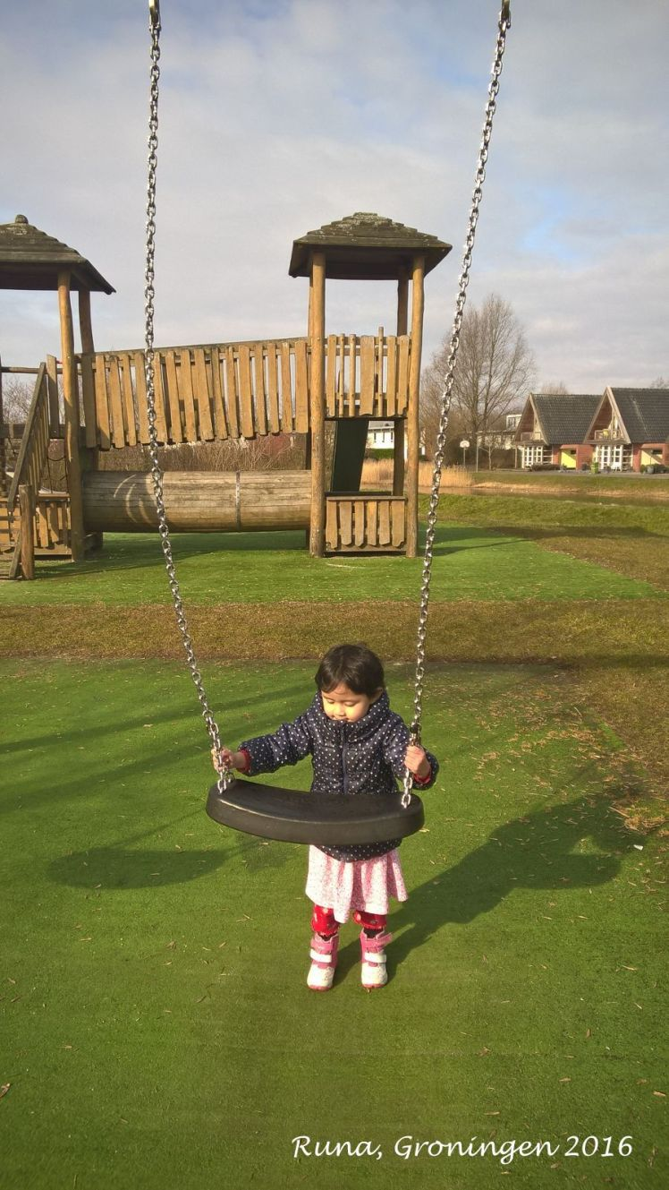 Runa and her second spring in Groningen
