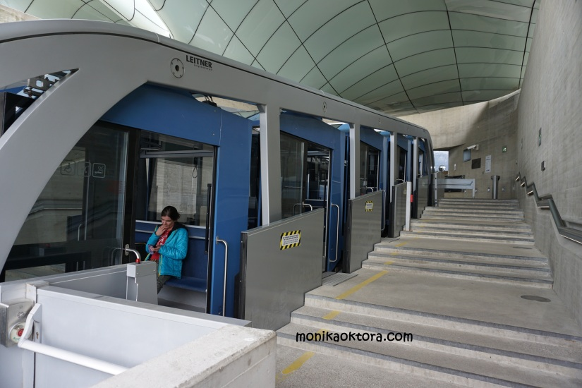 Bentukan Funicular Innsbrucker Nordkettenbahnen