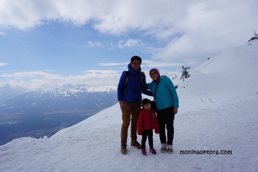 Hafelakar -salah satu puncak pegunungan Alpen