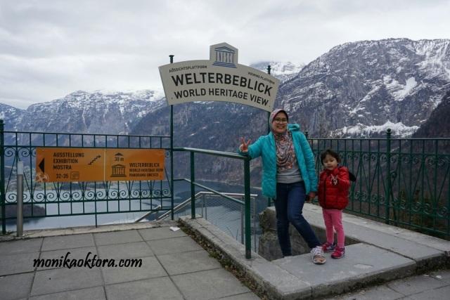 World Heritage View of Hallstatt