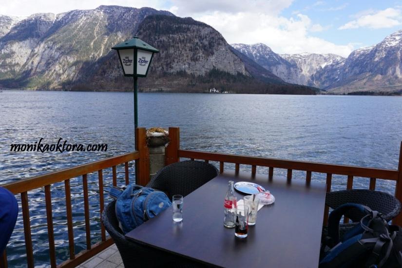 Salah satu restoran di Hallstatt