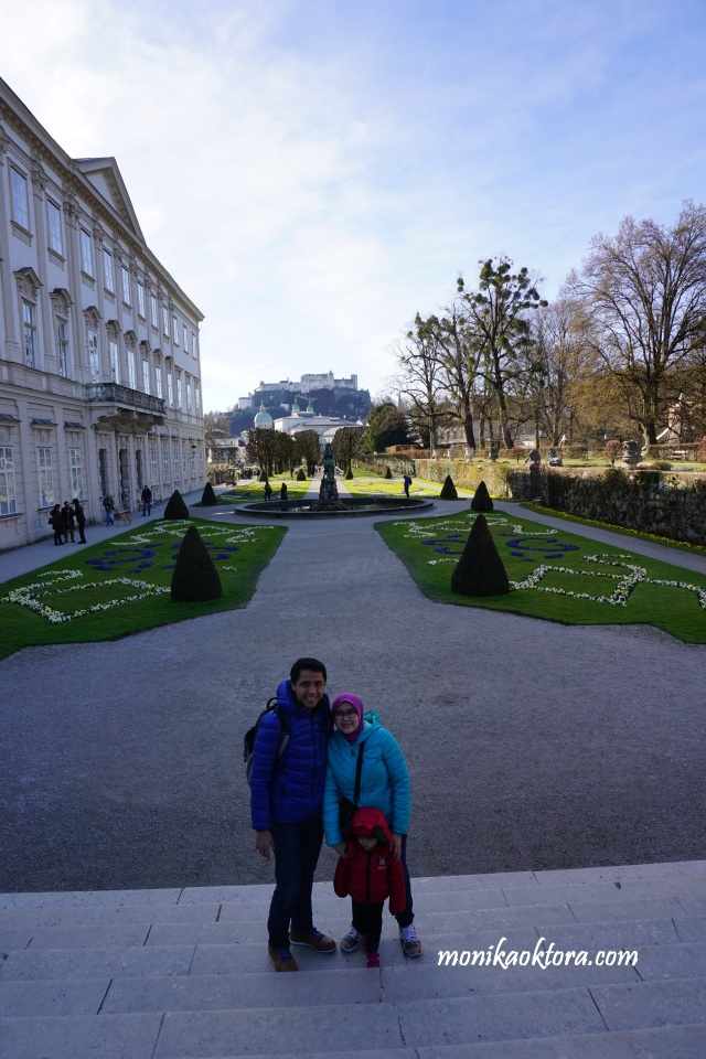 Mirabell Gardens and Mirabell Palace