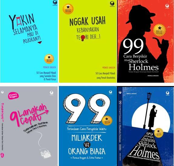 Buku-buku Monica Anggen