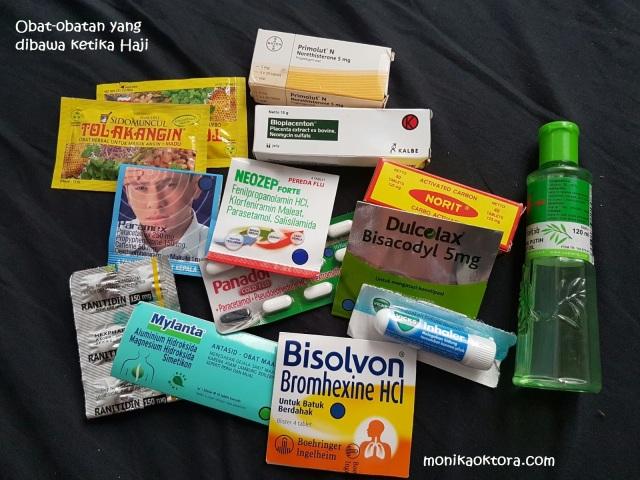 Perbekalan obat-obatan ketika haji