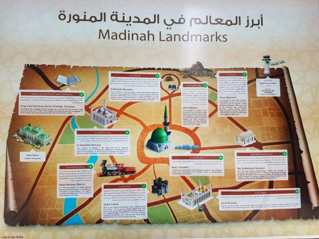 Madinah Landmarks