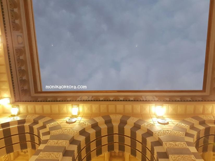 Kubah berjalan Masjid Nabawi