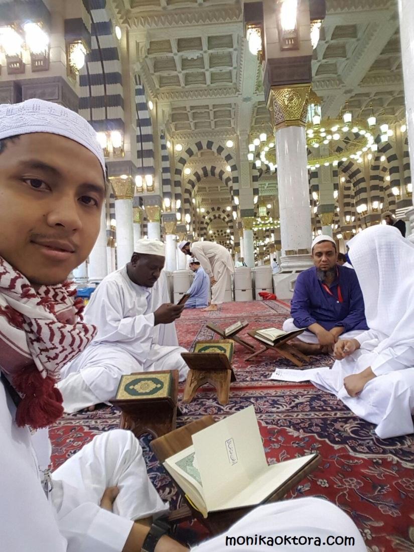 Tahsin for Visitor, gratis untuk pengunjung Masjid Nabawi, setiap selepas Subuh sampai Dhuha
